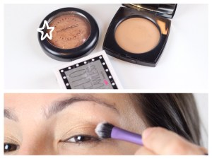 Step 4: Applying eyeshadow