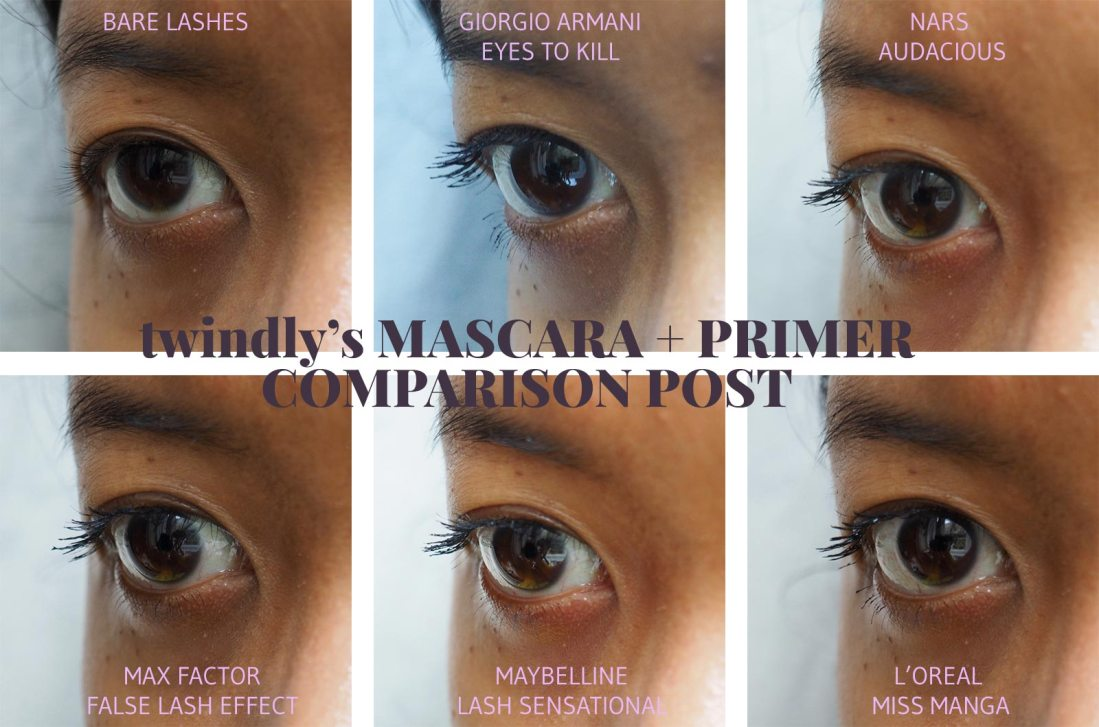 Mascaras and Primers for Asian Lashes - twindly beauty blog