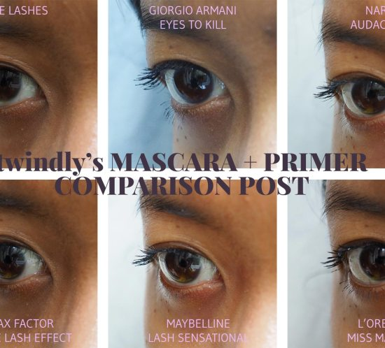 twindly's Mascara + Primer Comparison