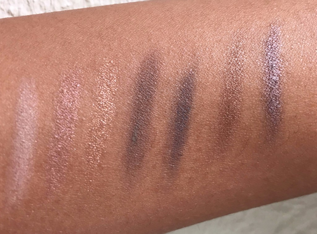 Burberry Eye Colour Contour Pens - every shade swatched on NC44