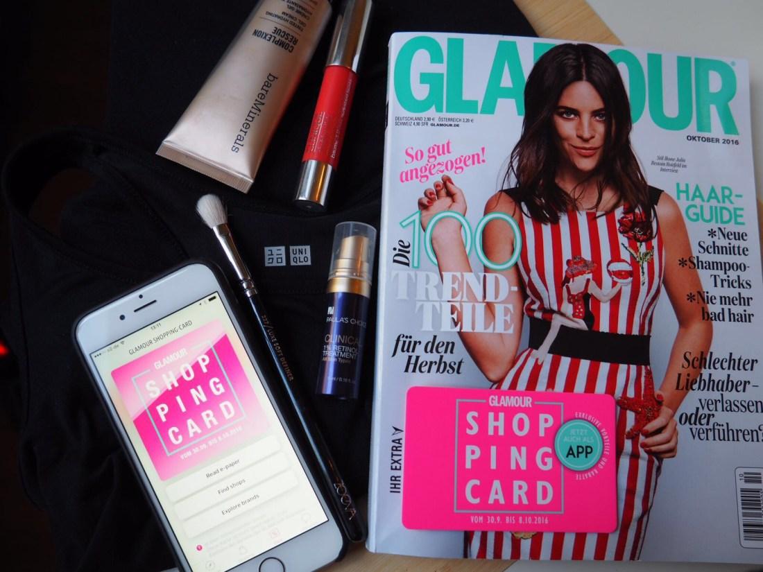 Glamour Shopping Week Shopping List