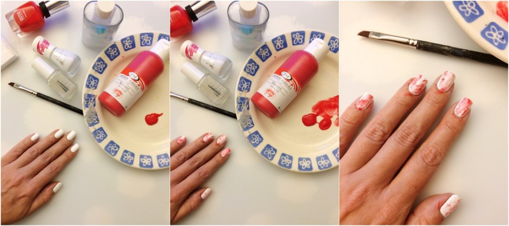 easy holloween nail art
