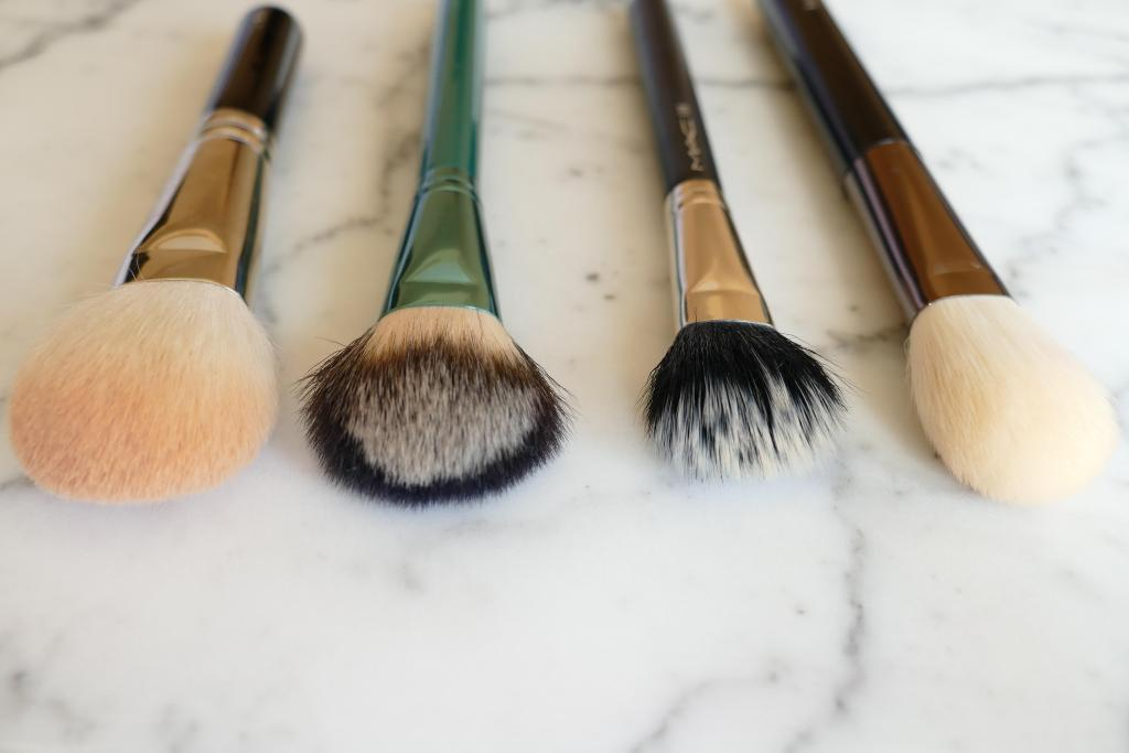 Hakuhodo blush brushes comparison