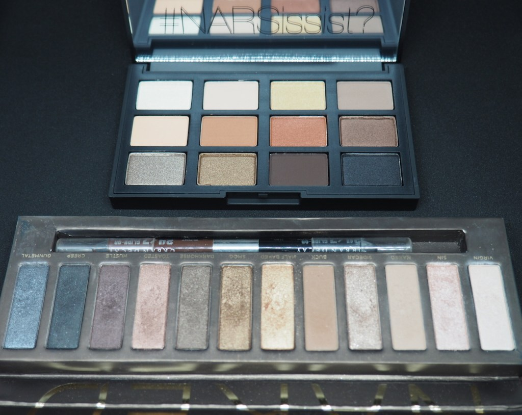 NARS Loaded Eyeshadow Palette & Urban Decay Naked Palette