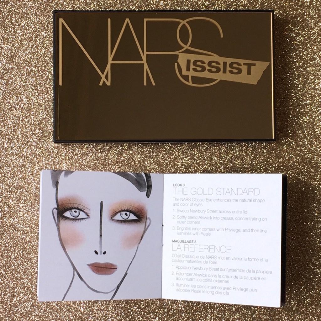NARS Loaded Eyeshadow Packaging and Booklet