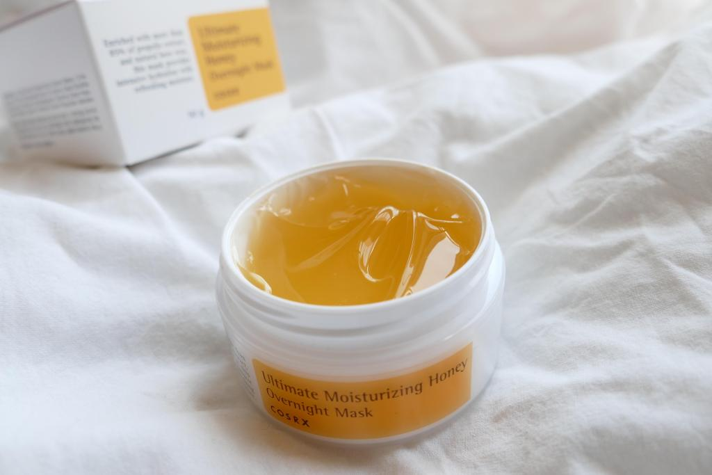 cosrx honey overnight mask review