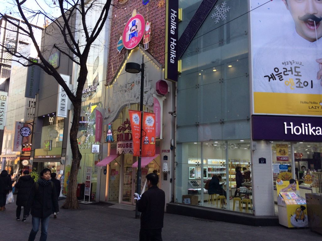 Shopping for beauty in Seoul