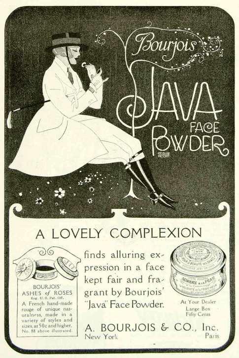 Bourjois Java Powder ad