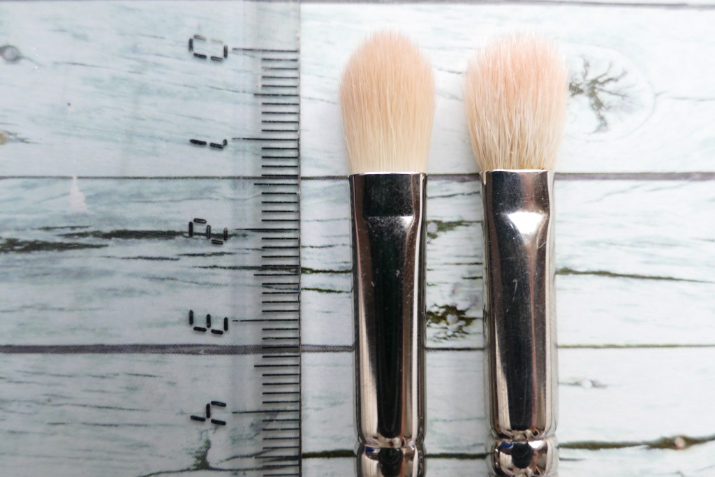 Comparison and review of MAC new synthetic brushes