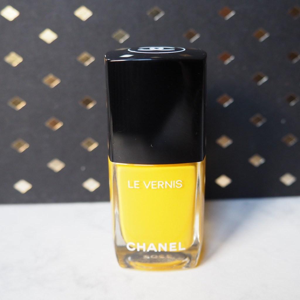 Chanel Nail Polish Giallo Napoli