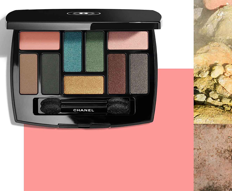Chanel eyeshadow palette Spring 2018