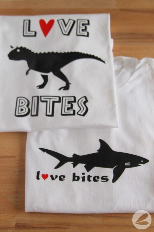 Download Love Bites Valentine T-shirt with SVG Cut File