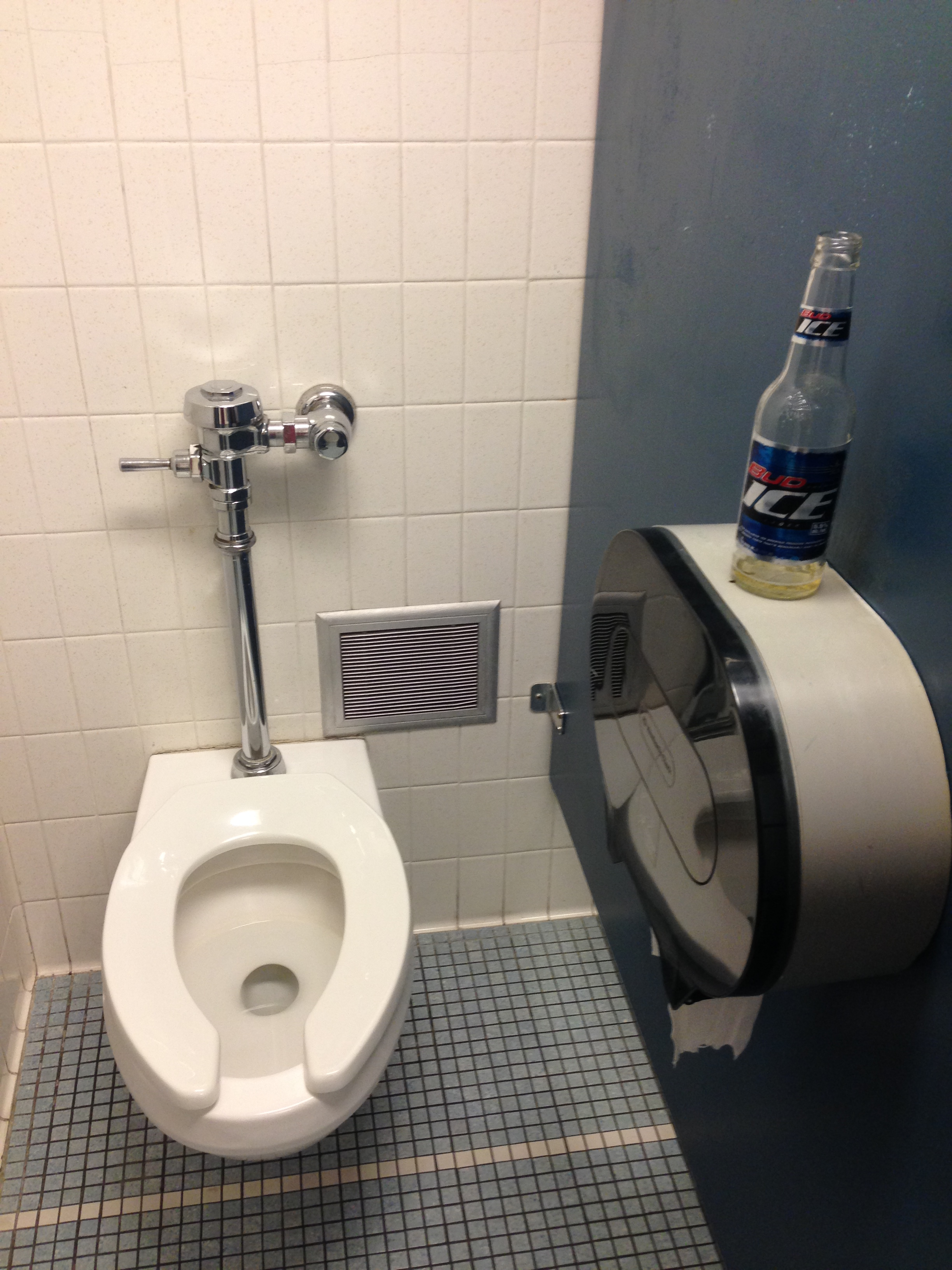 Questions for the Dudebro Drinking a Beer in the Campus Restroom Stall A NonExhaustive List
