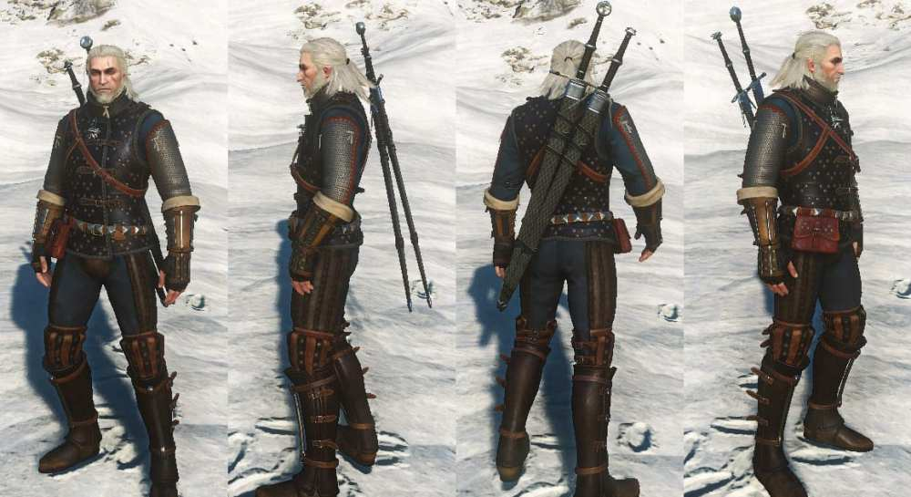 Witcher 3 Cat School Armor Gear