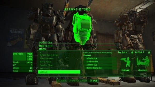 Fallout 4, jetpack, guide