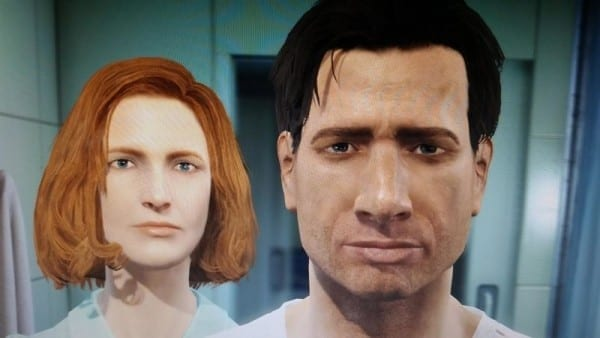 Fallout 4, character creation, Mulder and Scully, X-Files