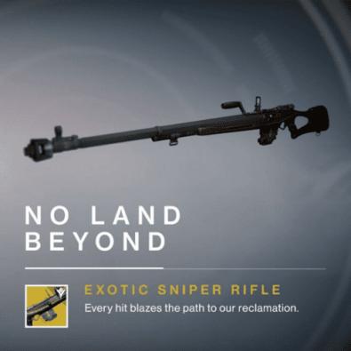 destiny no land beyond