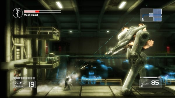 Shadow Complex, Remastered, release, PS4, Steam