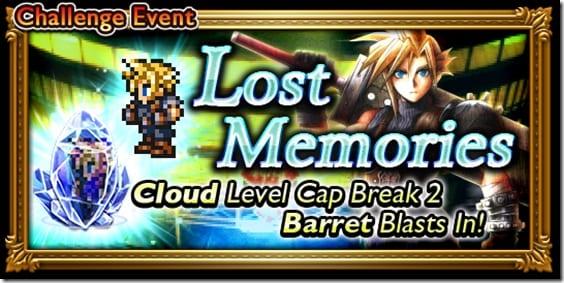 Final Fantasy Record Keeper, Cloud