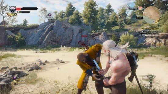 witcher 3, hearts of stone, ofieri mage, how, beat, defeat, boss, mage