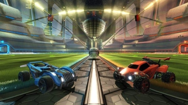 rocket league, PSVR, cinematic mode
