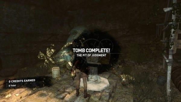 tomb raider pit of judgement