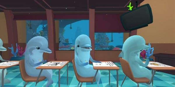 weirdest games, virtual reality, weird, oculus rift, classroom aquatic