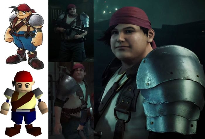 Final Fantasy VII Remake Characters Compared To Their Original Models