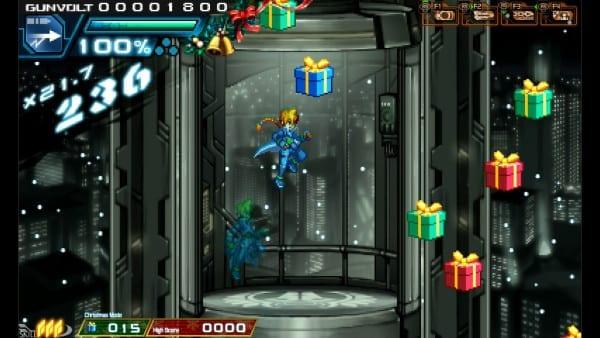 Azure Striker Gunvolt Holiday Event