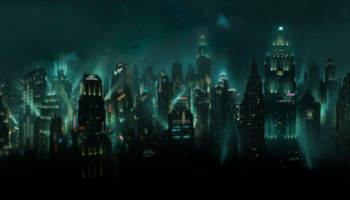 bioshock rapture underwater city