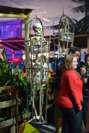 Uncharted 4 PSX skeletons