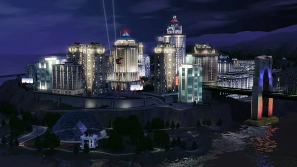 the-sims-3-caindo-na-noite-imagens-bridgeport-dimensao-sims-3
