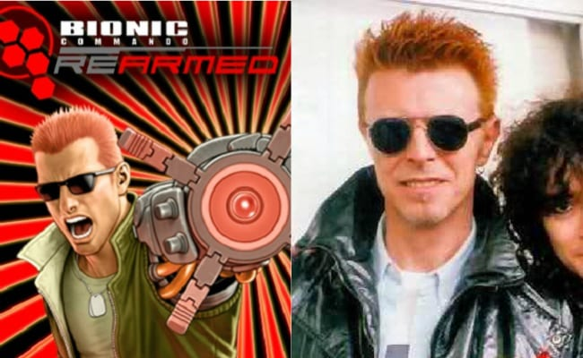 Bionic Commando Rearmed, Nathan Rad Spencer, David Bowie is in every video game