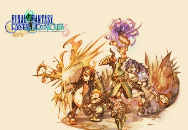 final fantasy, crystal chronicles, spinoff