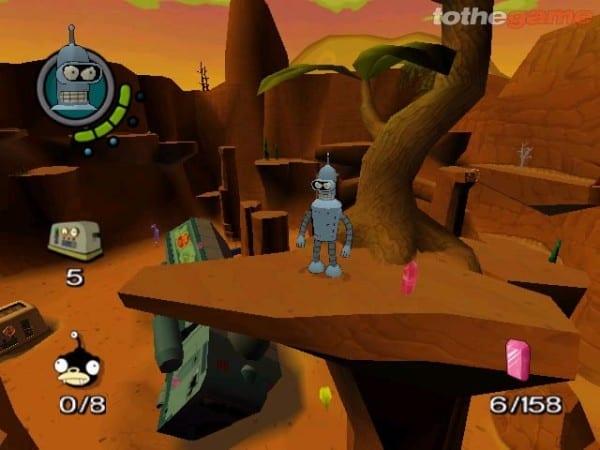 Futurama PS2 PS4