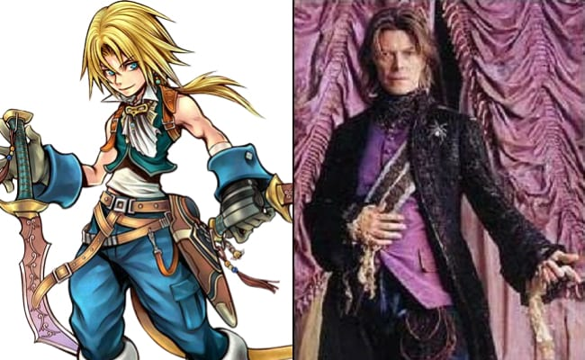 David Bowie is in every video game, Final Fantasy IX, Zidane Tribal