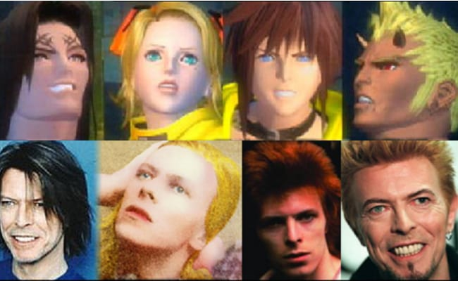 David Bowie is in every video game, The Bouncer