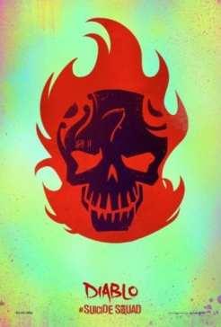 Suicide Squad, poster, Diablo