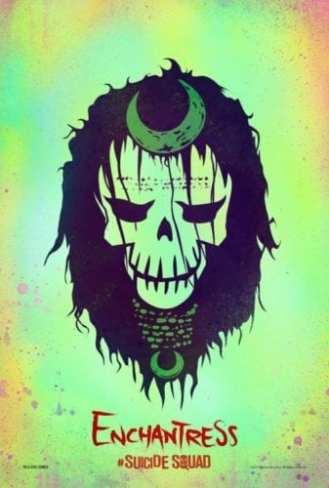 Suicide Squad, poster, Enchantress