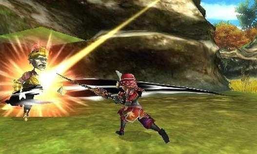 Samurai Final Fantasy Explorers