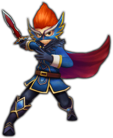Final Fantasy Explorers Blue Mage