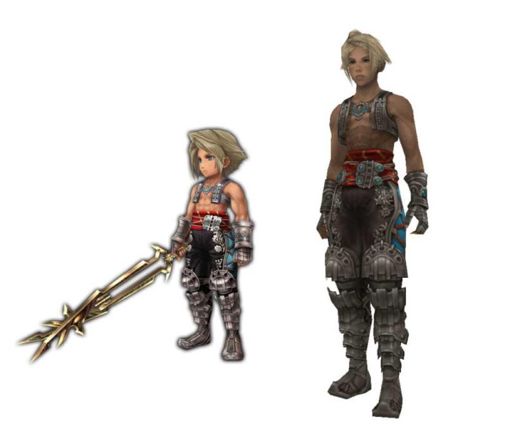 Vaan Final Fantasy XII vs explorers