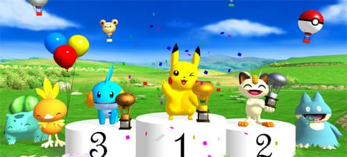 35. Pokemon Dash (2005) - DS