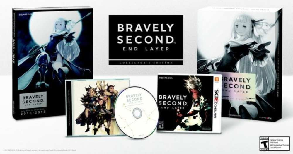 Bravely Second, End Layer, collector's edition