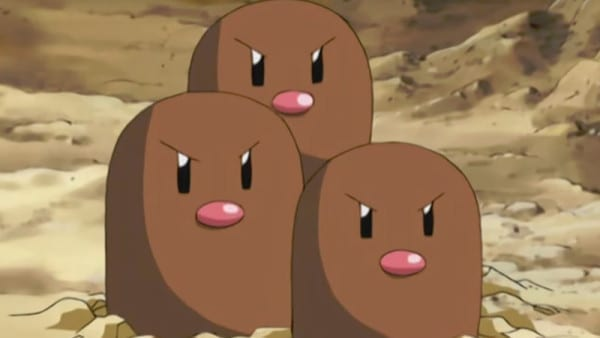 Pokemon, Dugtrio, Dangerous