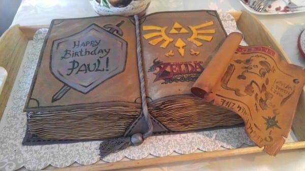 legend of zelda, cake , wind waker, birthday