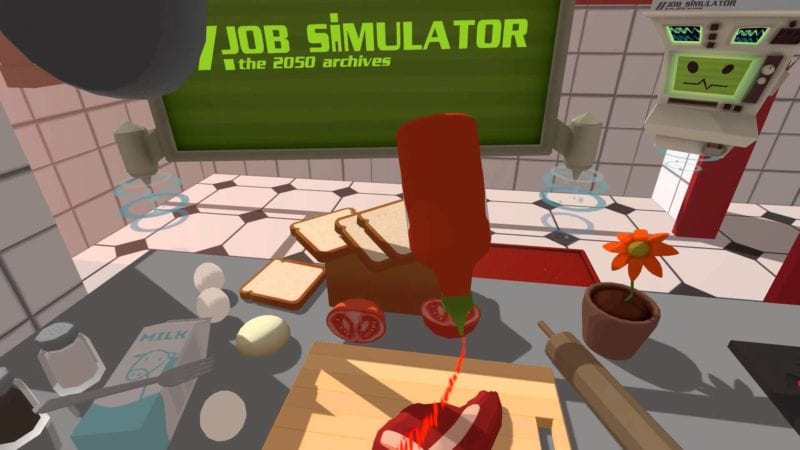 job simulator, , silly, vr, look, games, virtual reality, Oculus Rift