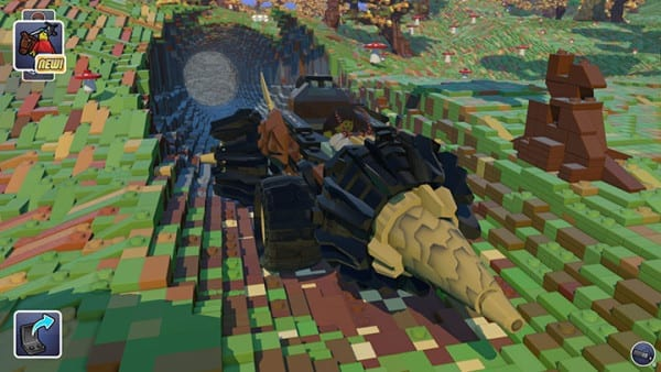 Lego Worlds, Minecraft