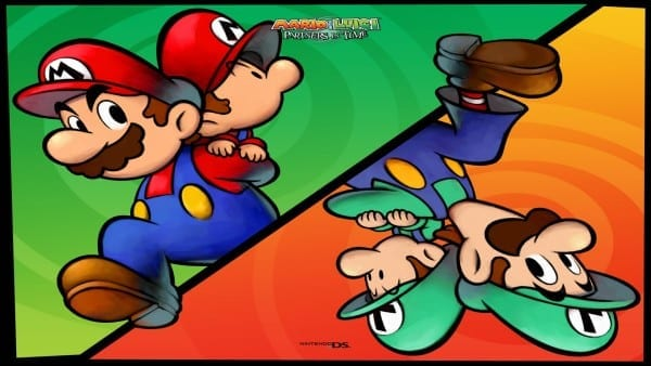 mario and luigi parterns in time