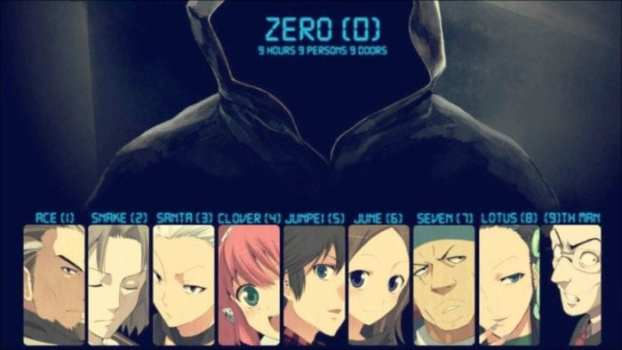Zero Escape Series - DS, 3DS, PS VITA